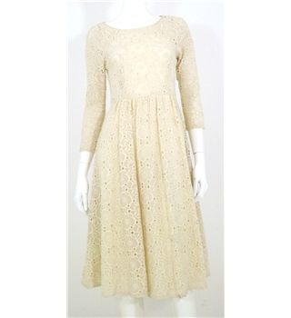 Tibi Size 4 Uk Size 8 Cream Crochet Midi Dress Oxfam Gb Oxfam S Online Shop Crochet Midi Dress Dresses Second Hand Dresses