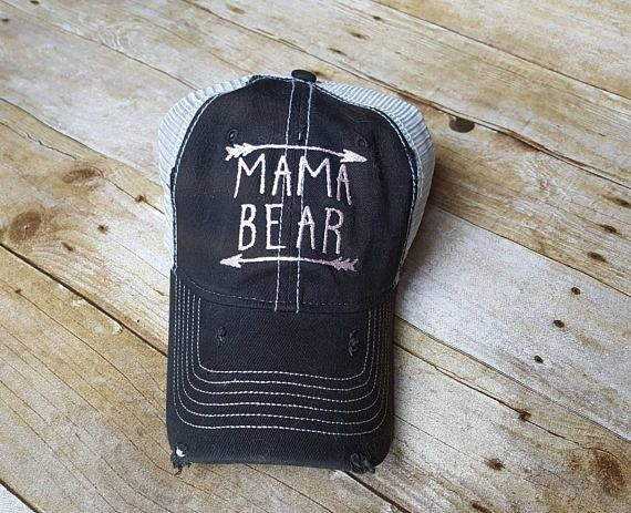 f5155adf1c223 For Alicia- Mama bear hat-embroidered hat-arrow hat-custom hat-distressed