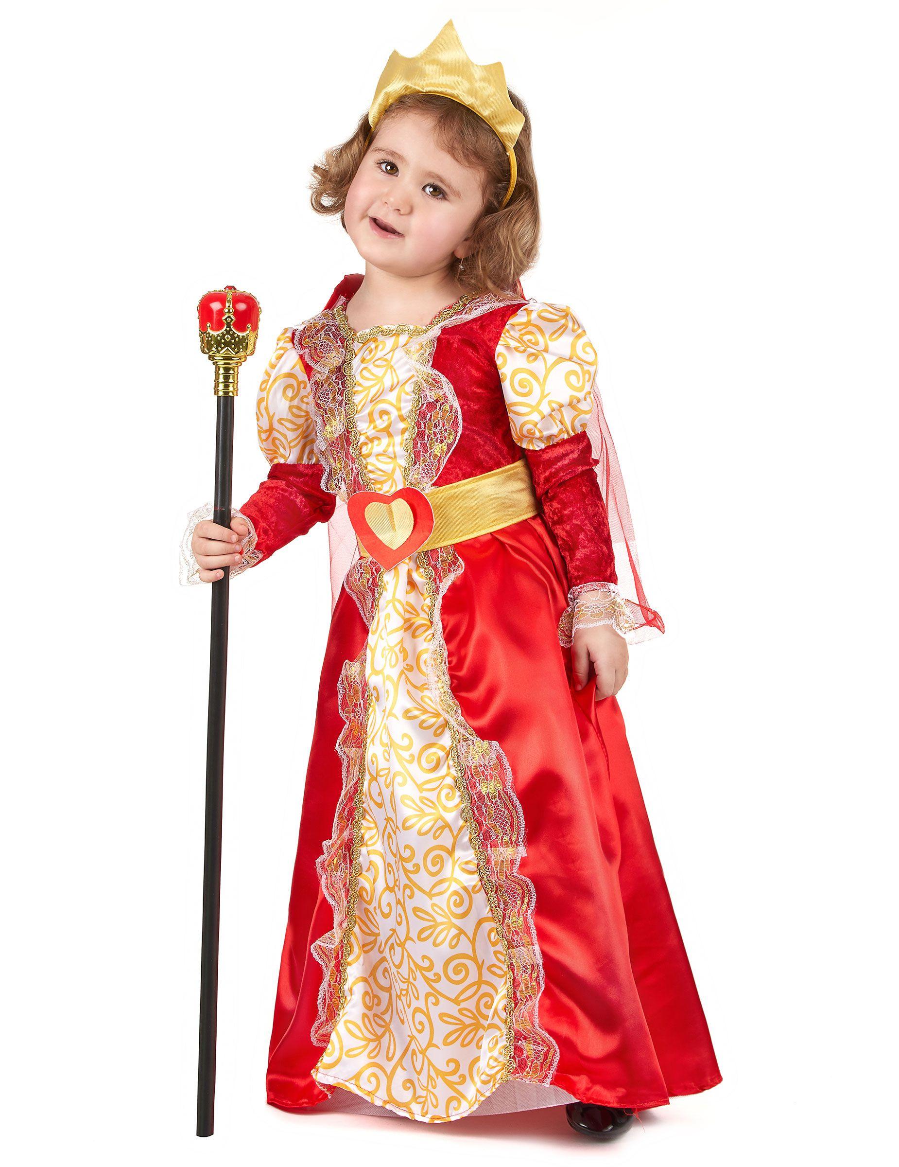 Disfraz de reina para niña  Este disfraz de reina para niña incluye vestido 6fc0fb289a99