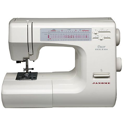 Janome Excel Decor 5024 Sewing Machine | Sewing machine ...