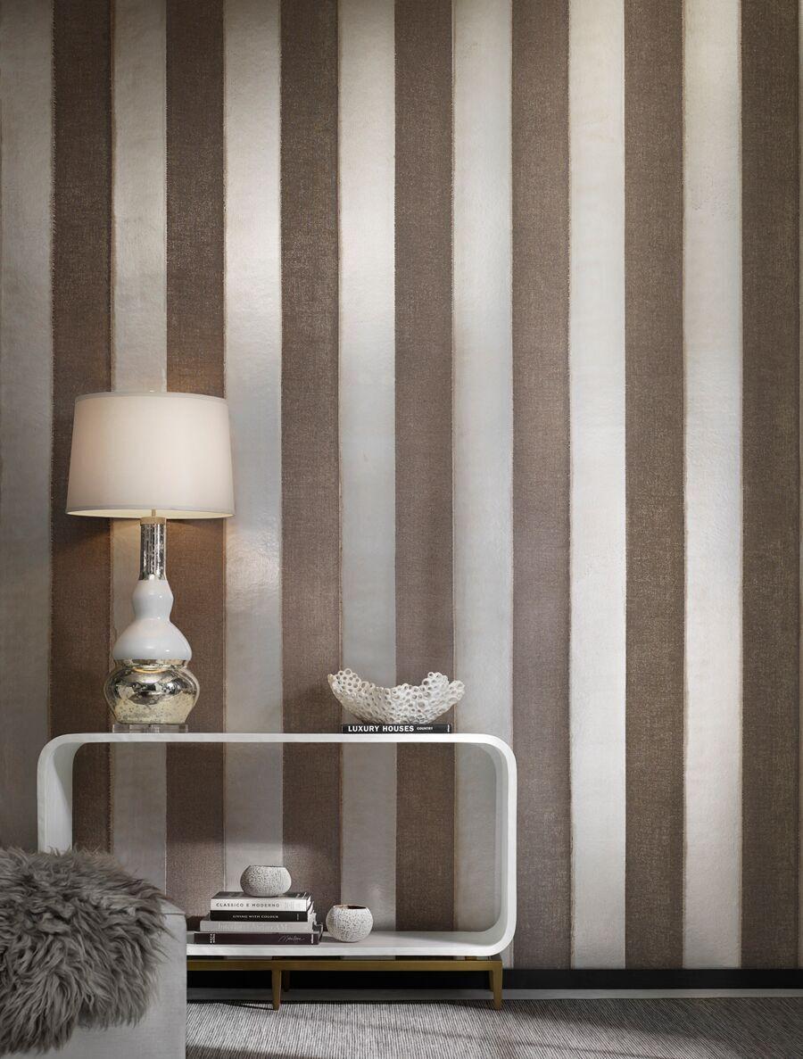 kid wallpaper usa mylar. Tidal Stripe - Two Mediums Make Up This Coastal Inspired Wallcovering: Mylar And Burlap. Kid Wallpaper Usa