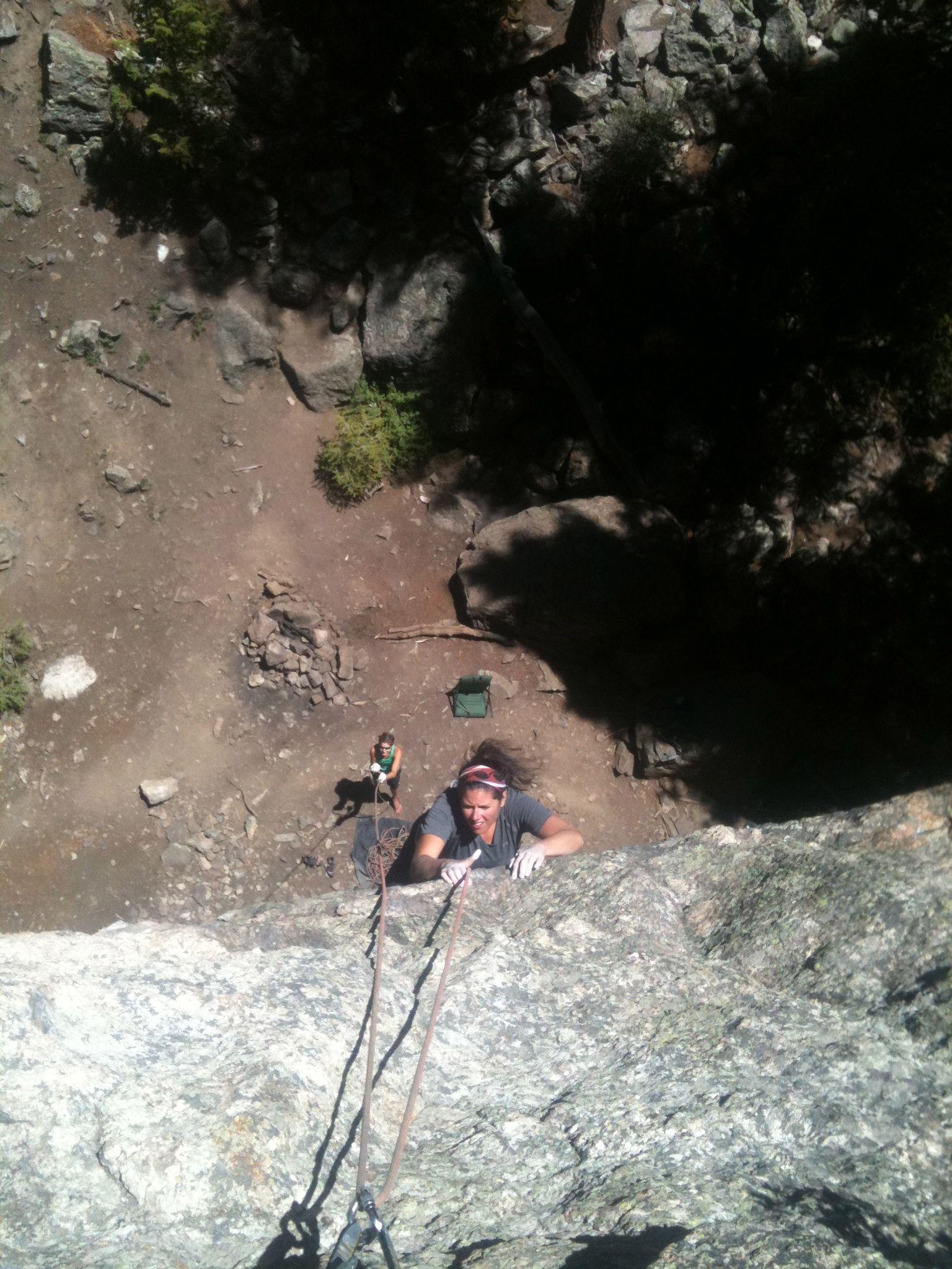 Climbing at montezuma co outdoor activities