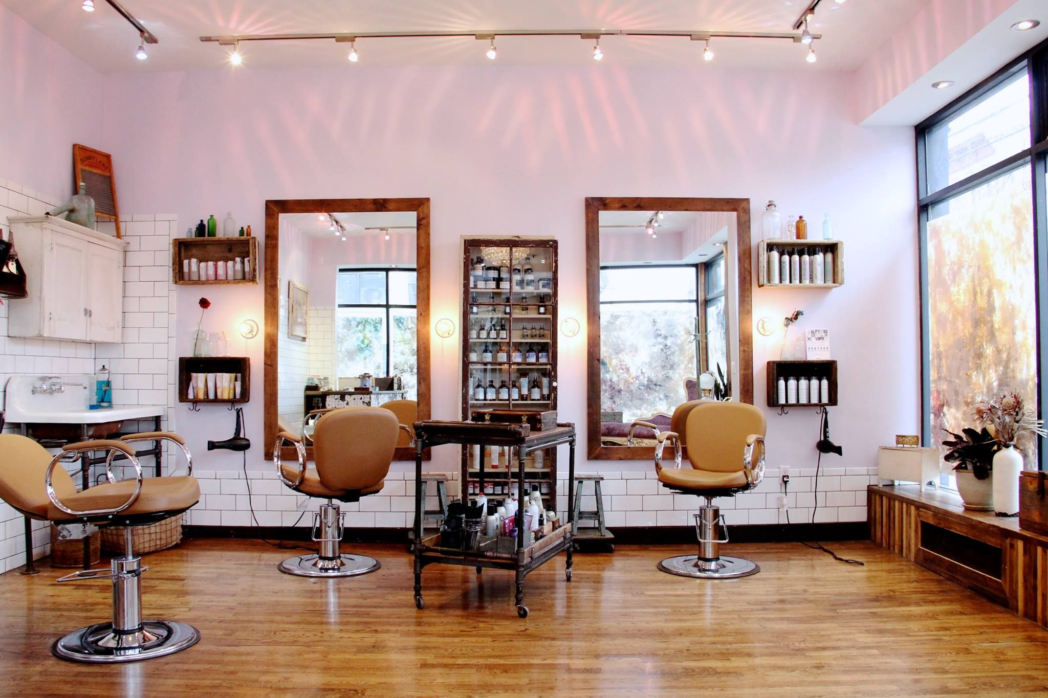 Image result for beauty salon brooklyn small photos