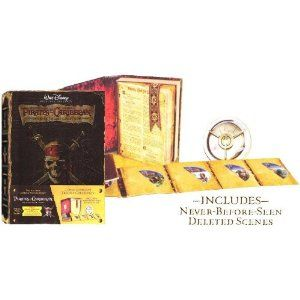 Pirates Of The Caribbean Ultimate Trilogy Collection 7 Disc