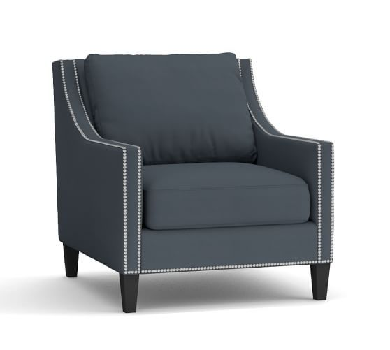 Pasadena Upholstered Armchair Upholstered Arm Chair