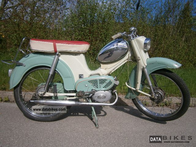1959 Hercules 220 Motorcycle Motor Assisted Bicycle Small Moped Photo Old Bikes Hercules Bike
