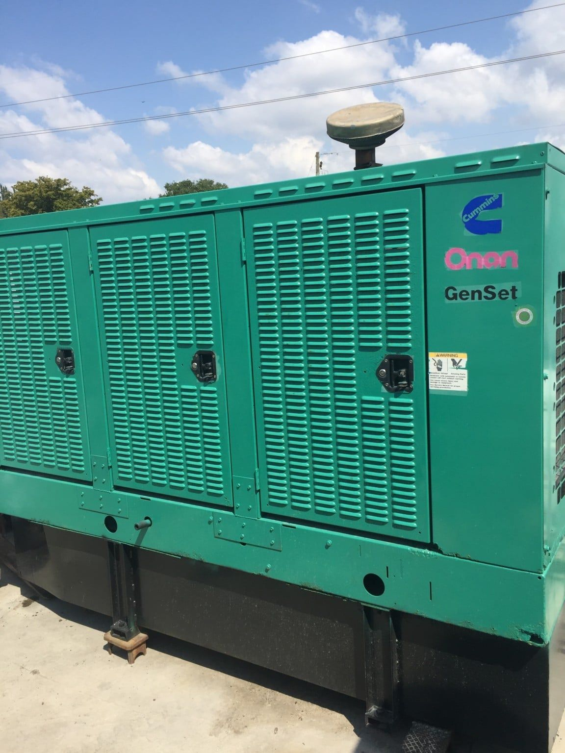 Unit 32001013 Just In Call For Additional Information Manufacturer Cummins Fuel Type Diesel Rating 100 Kw Hours With Images Cummins Onan Onan Diesel Generators