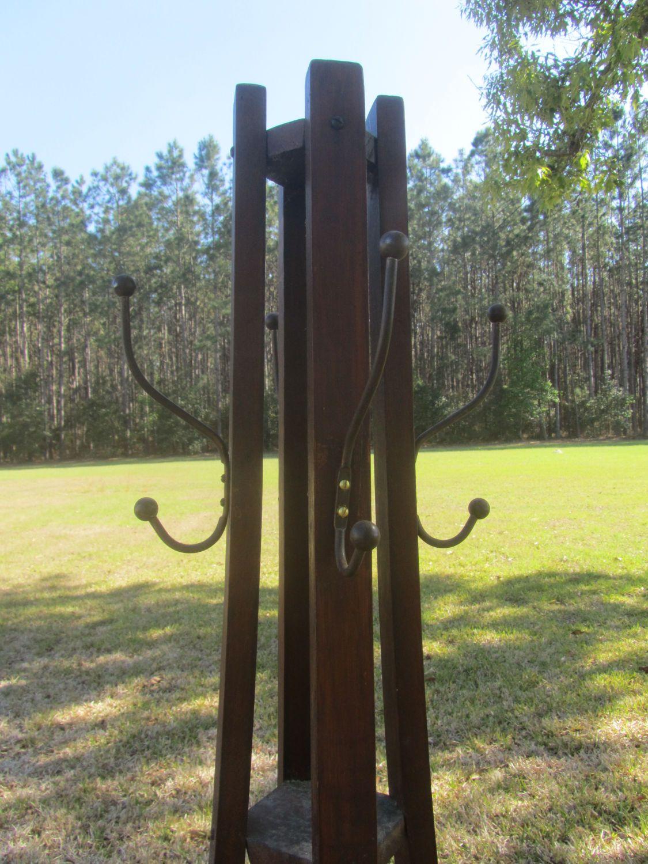 family stand trees antique coat uk hall mahogany hat way rack tree entry