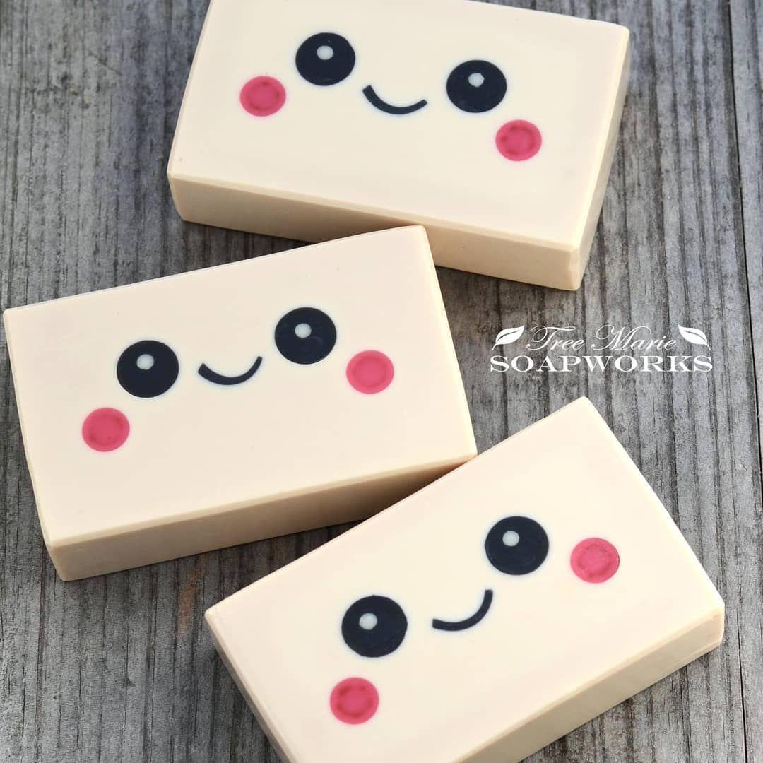 Kawaii cute soap by tree marie soapworks biscuit pinterest