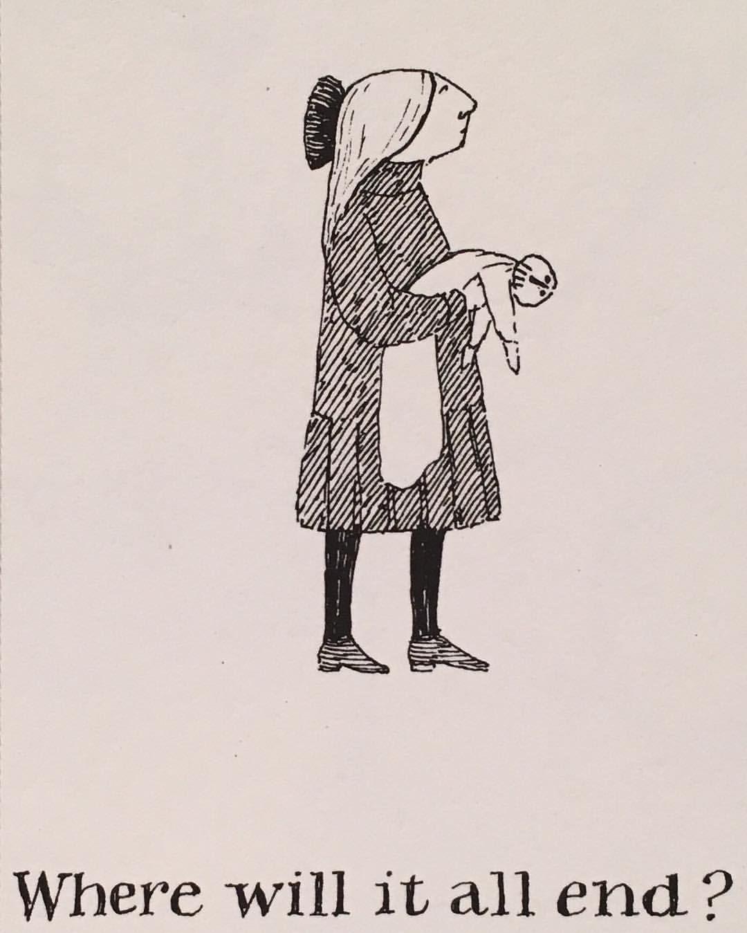 Edwardgorey Frases Edward Gorey Ilustraciones Y Macabro