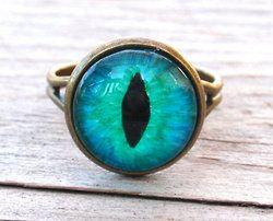 cat eye ring