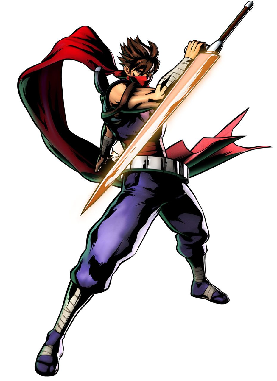 Strider Characters Art Ultimate Marvel Vs Capcom 3 Marvel Vs Marvel Vs Capcom Striders