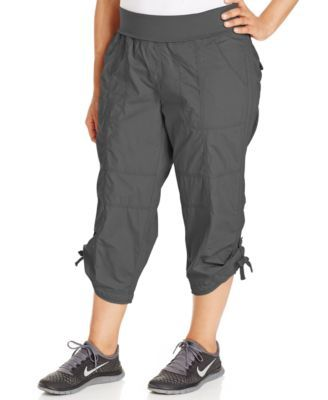 a8c79583af6 CALVIN KLEIN Calvin Klein Performance Plus Size Cropped Active Pants.   calvinklein  cloth   pants