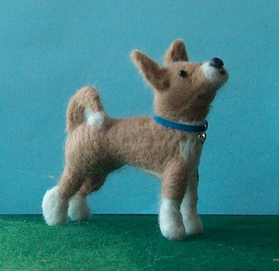 Custom Needle Felted Sculpture of Your Dog by makingstuffwithlove, $42.00