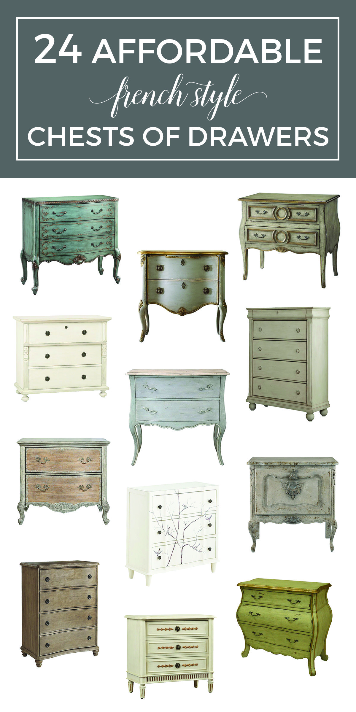 Where To Find French Dressers With Great Style At A Reasonable Price Ping Guide 24 Affordable Chests Inexpensive Painted