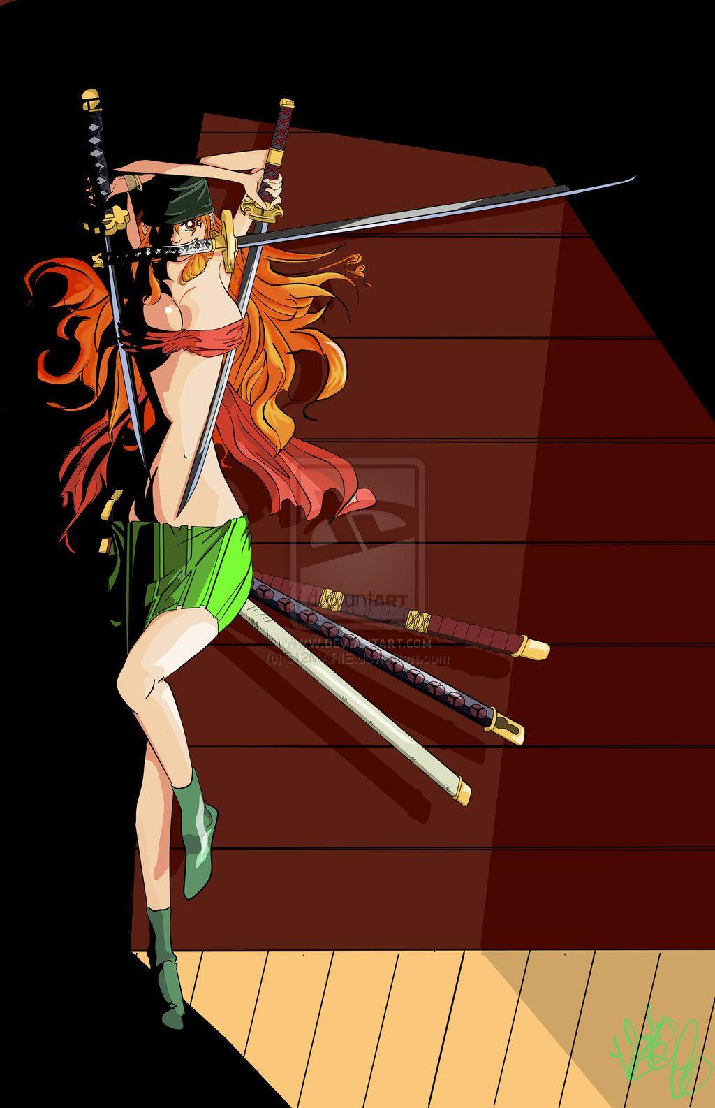 Nami's Three Sword Technique