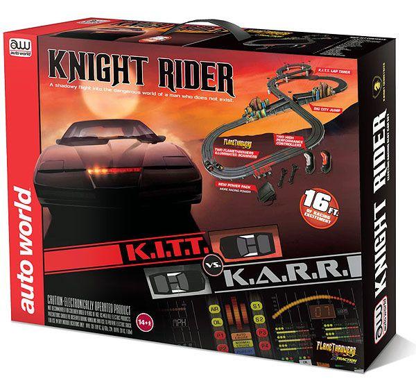 Cars - AUTO WORLD - SRS306 - Knight Rider - K.I.T.T. VS. K.A.R.R. Slot Car Race