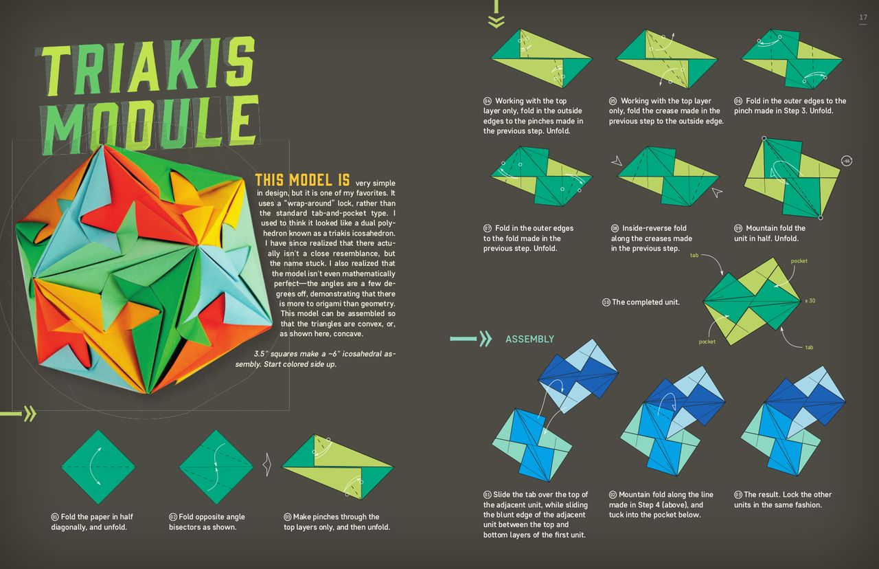 Image Result For Triakis Module Origami Pinterest Butterfly Diagram Diagrams Paper Engineering Modular Kinetic Art