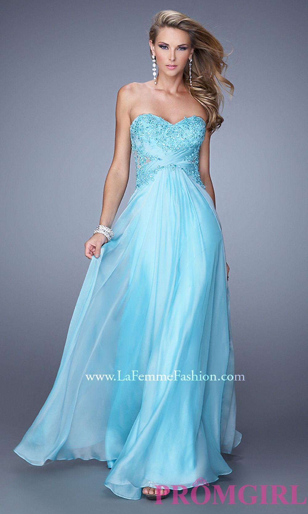 Sleeveless Long Chiffon Prom Dress  Style: LF-20762