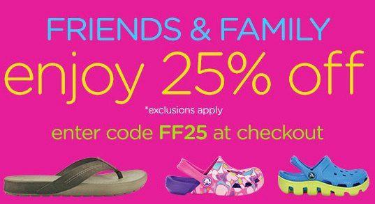 Crocs Coupon Codes – FREE Shipping + 25