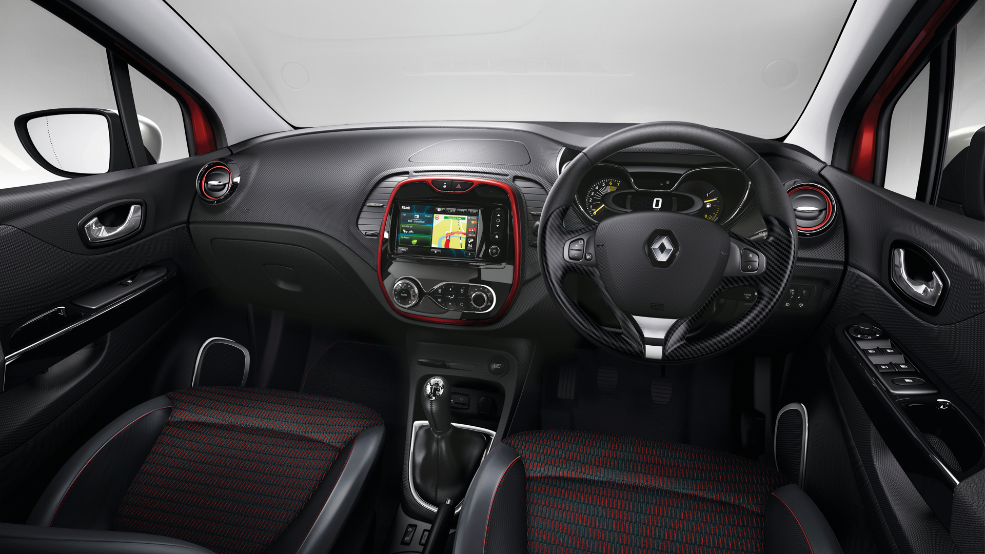 The new Renault Captur interior | Captur (coming soon) | Pinterest