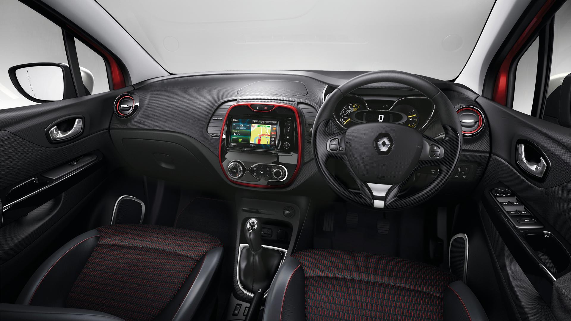 The new Renault Captur interior | Captur (coming soon) | Pinterest ...