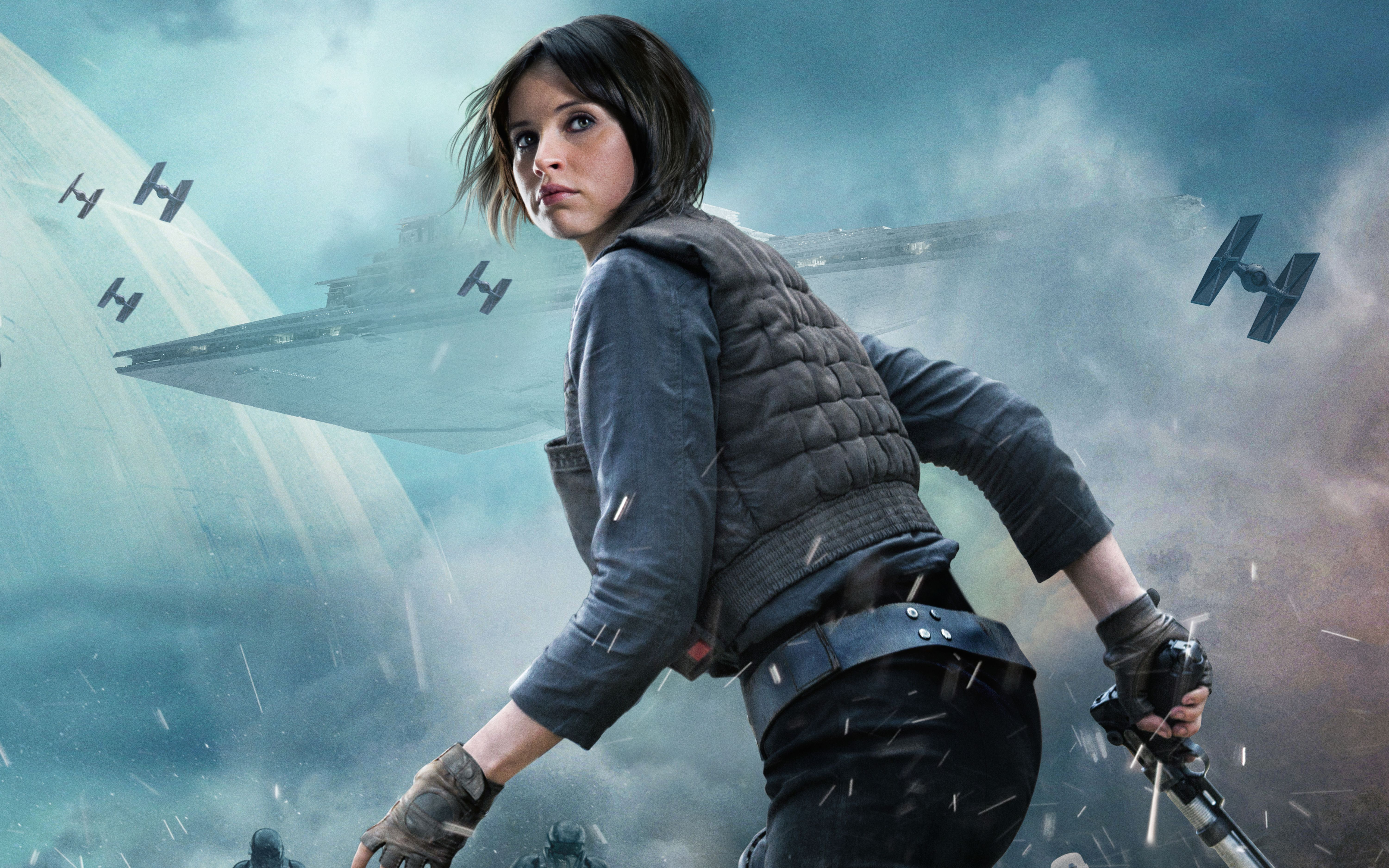 26 Jyn Erso Hd Wallpapers Backgrounds Wallpaper Abyss Rogue