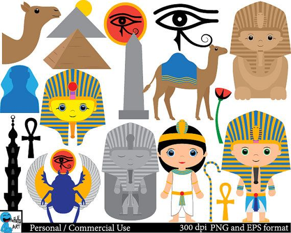 egypt set clipart digital clip art graphics by hahahaart on etsy rh pinterest com etsy clipart category etsy clipart category