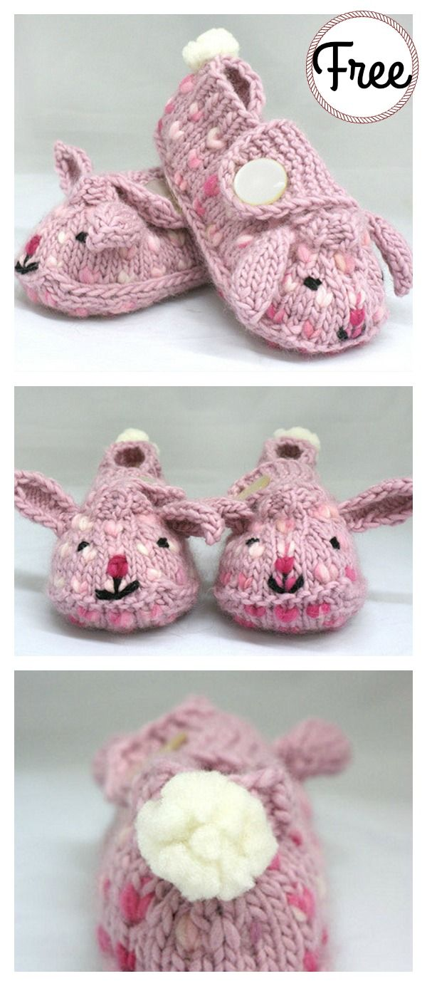 Bunny hop thrummed bunny slippers free knitting pattern my bunny hop thrummed bunny slippers free knitting pattern my knitting and crocheting pinterest bunny slippers knitting patterns and bunny bankloansurffo Image collections