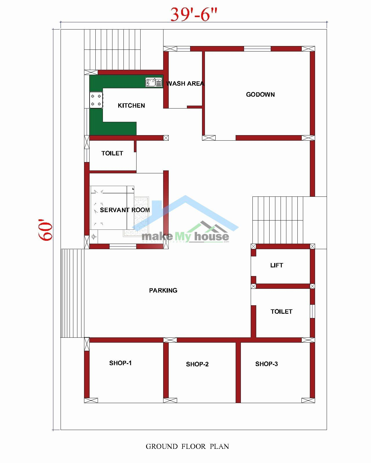 2400 Sq Ft Home Design Luxury What Is The Best Suitable Plan For A 2400 Sq Ft Residential In 2020 40x60 House Plans House Plans House Design