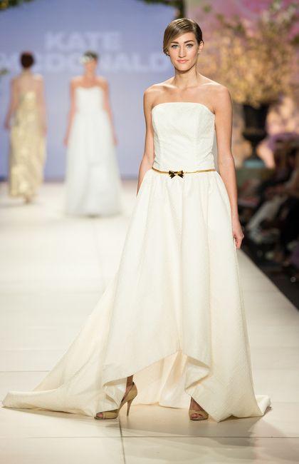 Magnolia Gown // Kate McDonald Spring Bridal Show // Charleston Fashion Week 2015 // Photography by Wedding Headline