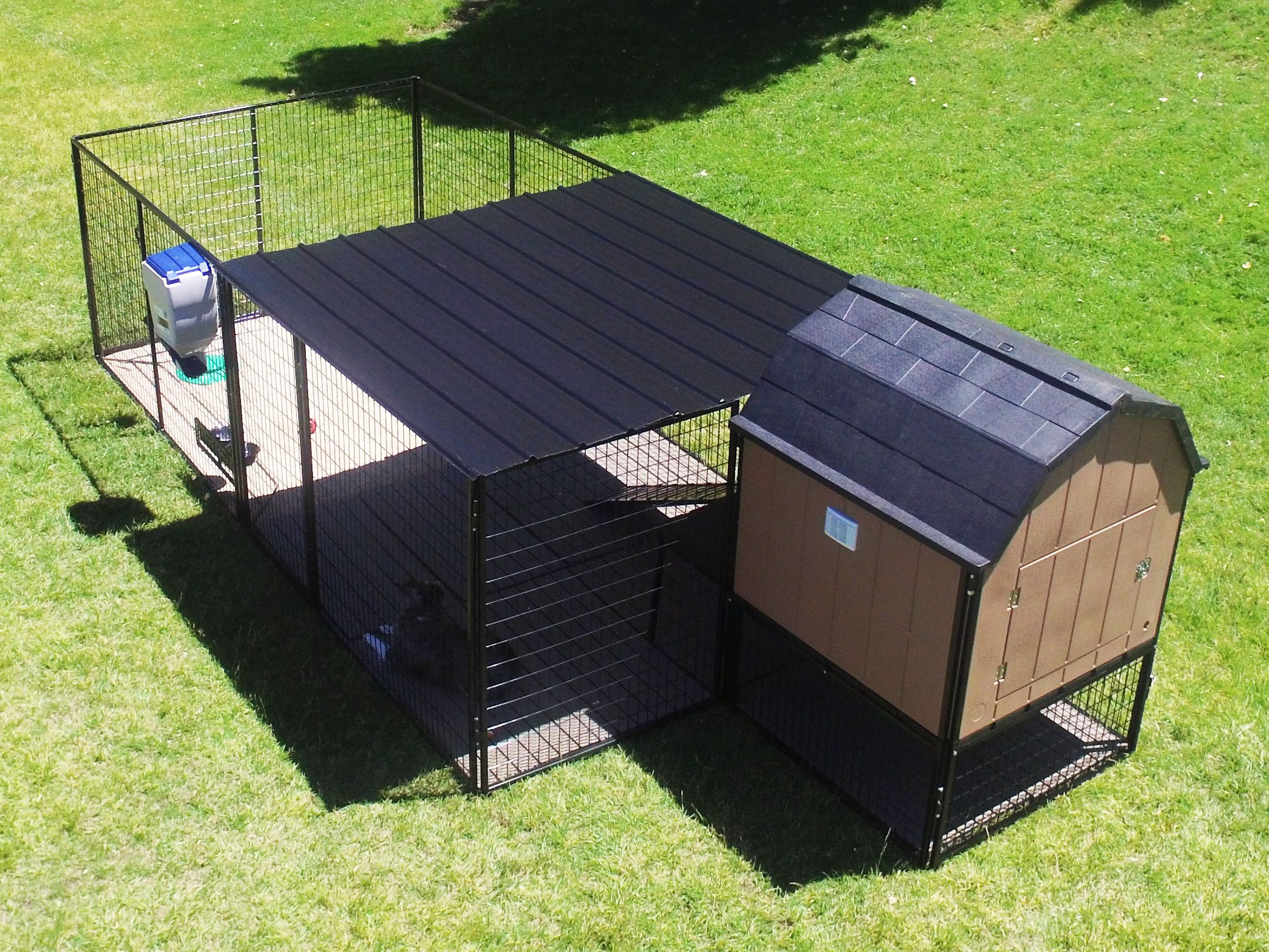 The Ultimate Kennel Barn Is A Fully Insulated Elevated Large Breed