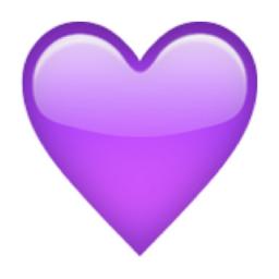 Purple Heart Emoji U 1f49c U E32d Heart Emoji Purple Heart Emoji