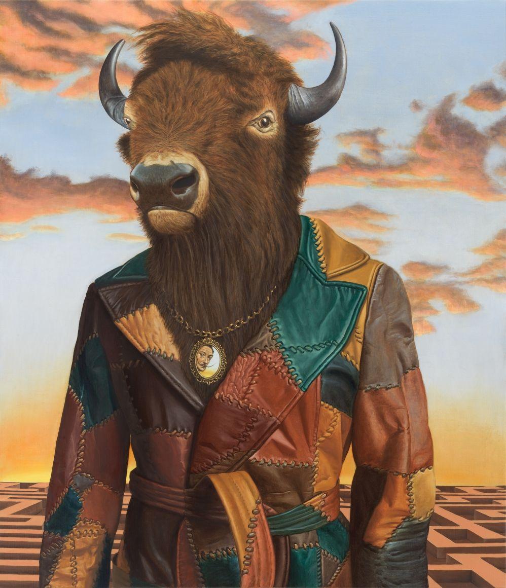 Buffalo Minotaur By Sean Landers Bison The Gift Of A Good Spirit