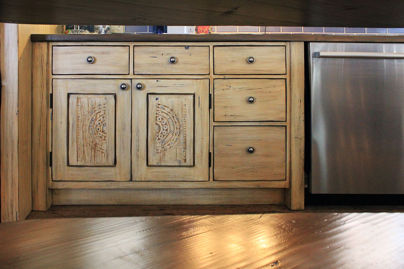 Santa Fe Custom Kitchen La Puerta Originals Custom Kitchen Cabinets Custom Kitchens Design Kitchen Installation