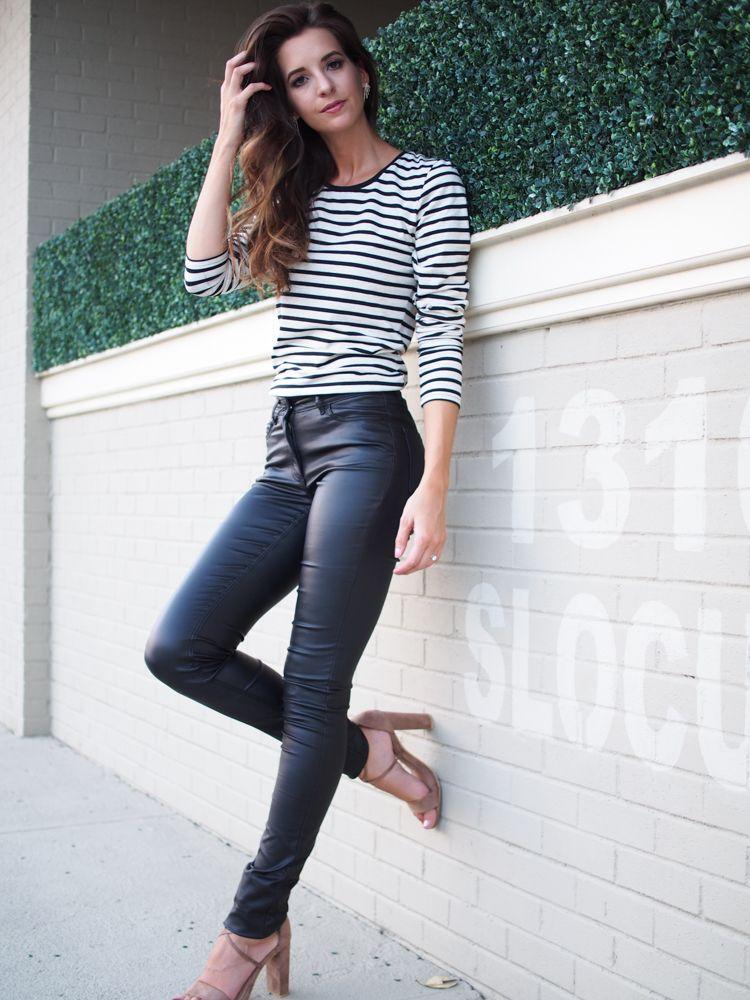 7d6105b7da3a0a LTS- long tall sally. Faux Leather pants. Fall style | G L A M ROOM ...
