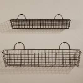 wire baskets - Google Search
