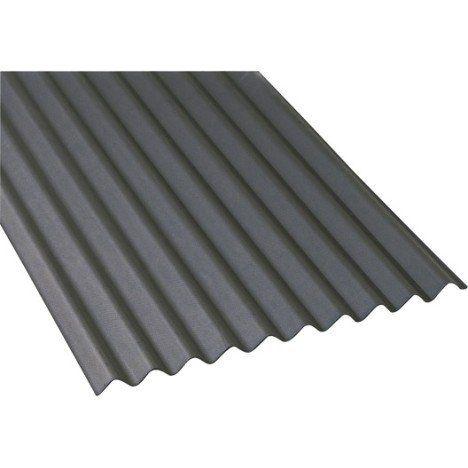 Plaque Bitume Noir L 0 86 X L 2 M Iko Tole Castorama Idees Pour La Maison