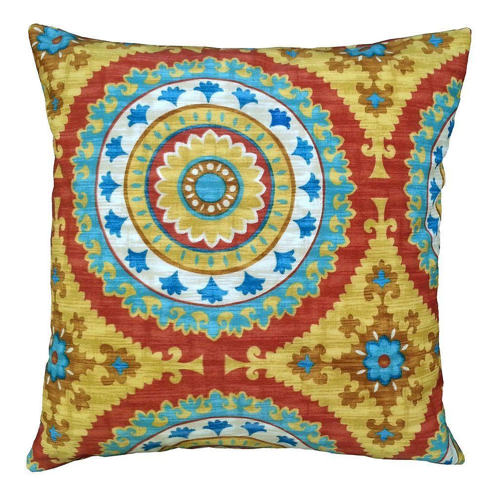 Edie, Inc. Inessa Outdoor Throw Pillow, Ovrfl Oth