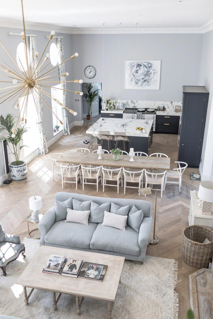 How to make an open concept #eclecticdecor Love the mix  Open