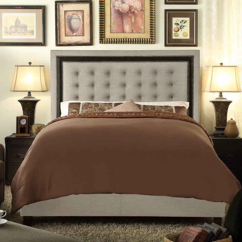 Rawley Upholstered Standard Bed Upholstered platform bed