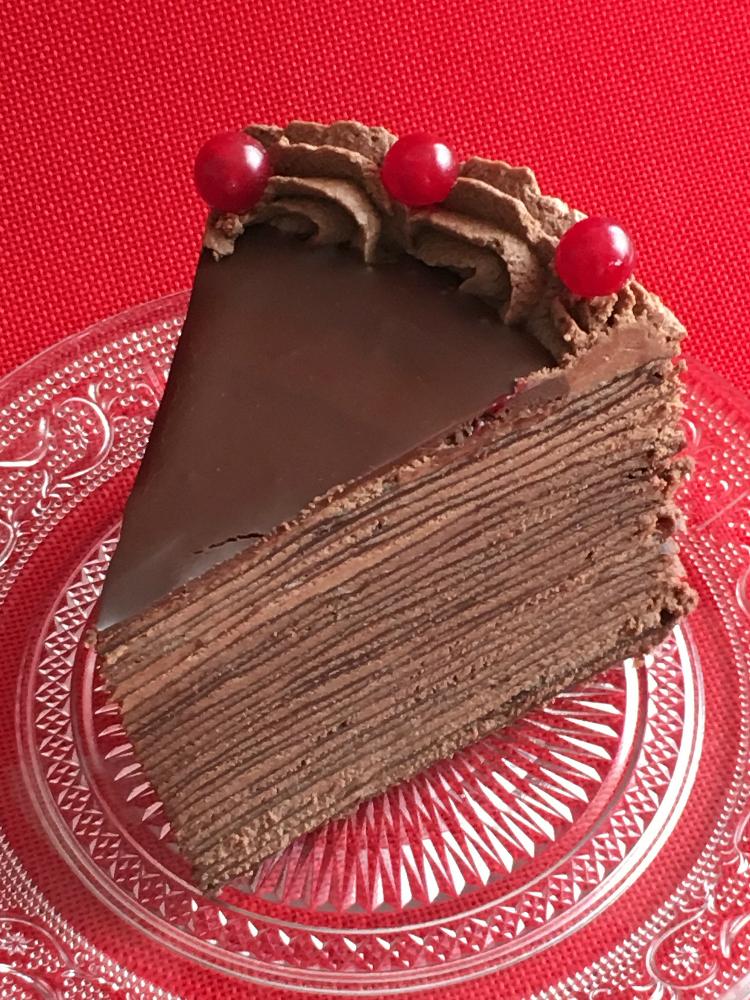 Tarta De Crepes De Chocolate Crepes De Chocolate Panqueques De Chocolate Torta Panqueque Chocolate