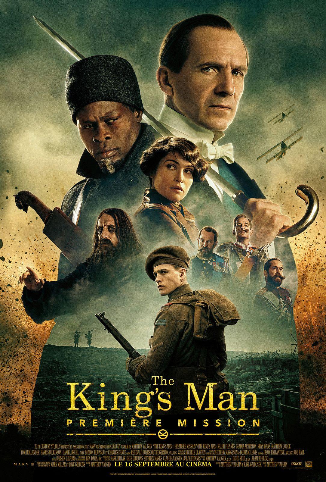 The King's Man Première Mission film 2020 AlloCiné