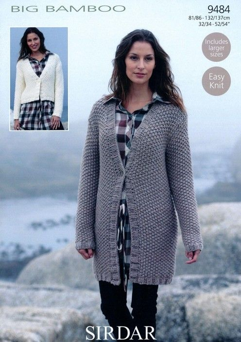 PATTERNFISH - Long and Short V Neck Cardigans