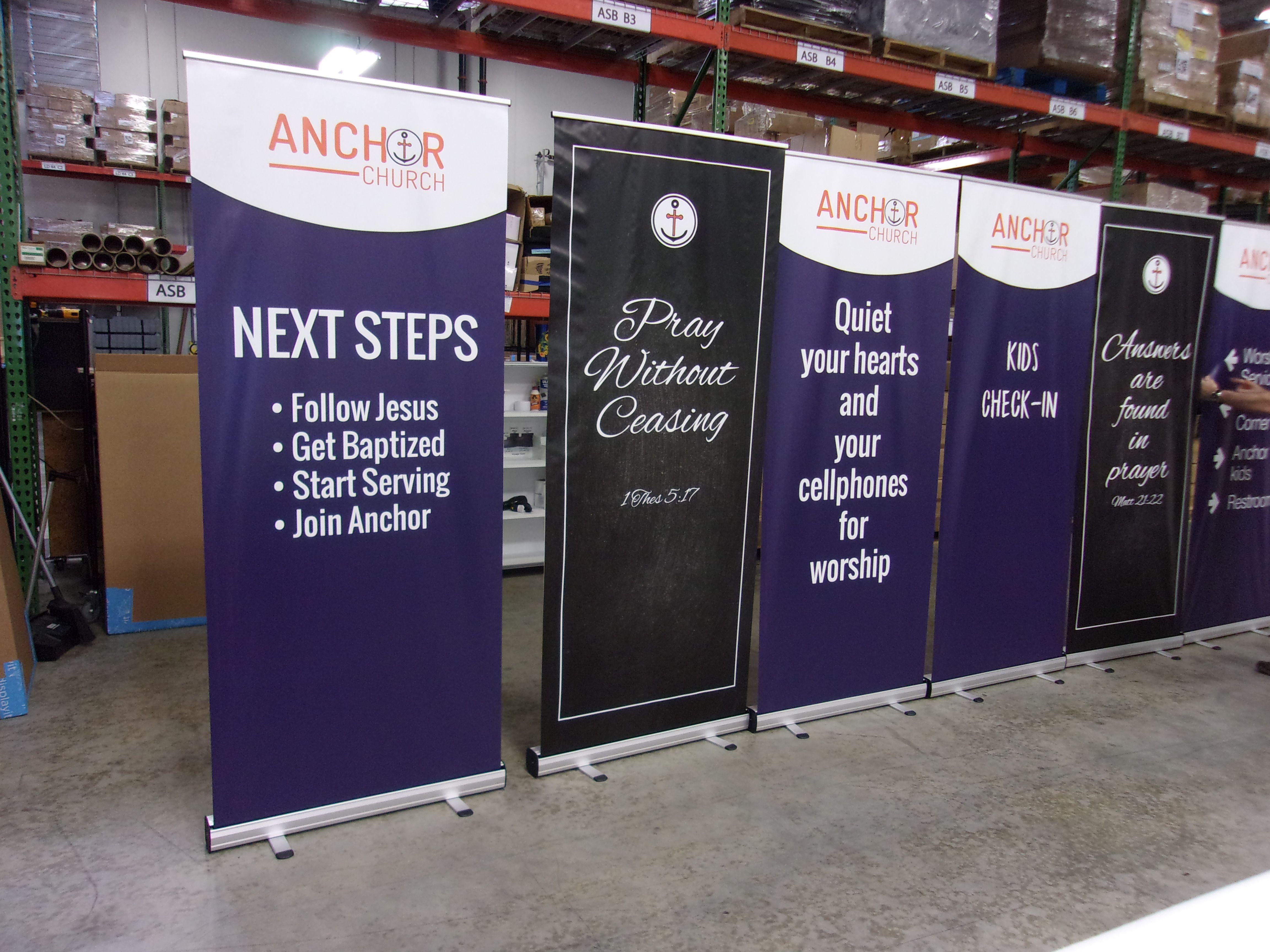 Vinyl Retractable Banner Stand Banner Stands Retractable Banner Stand Church Banners