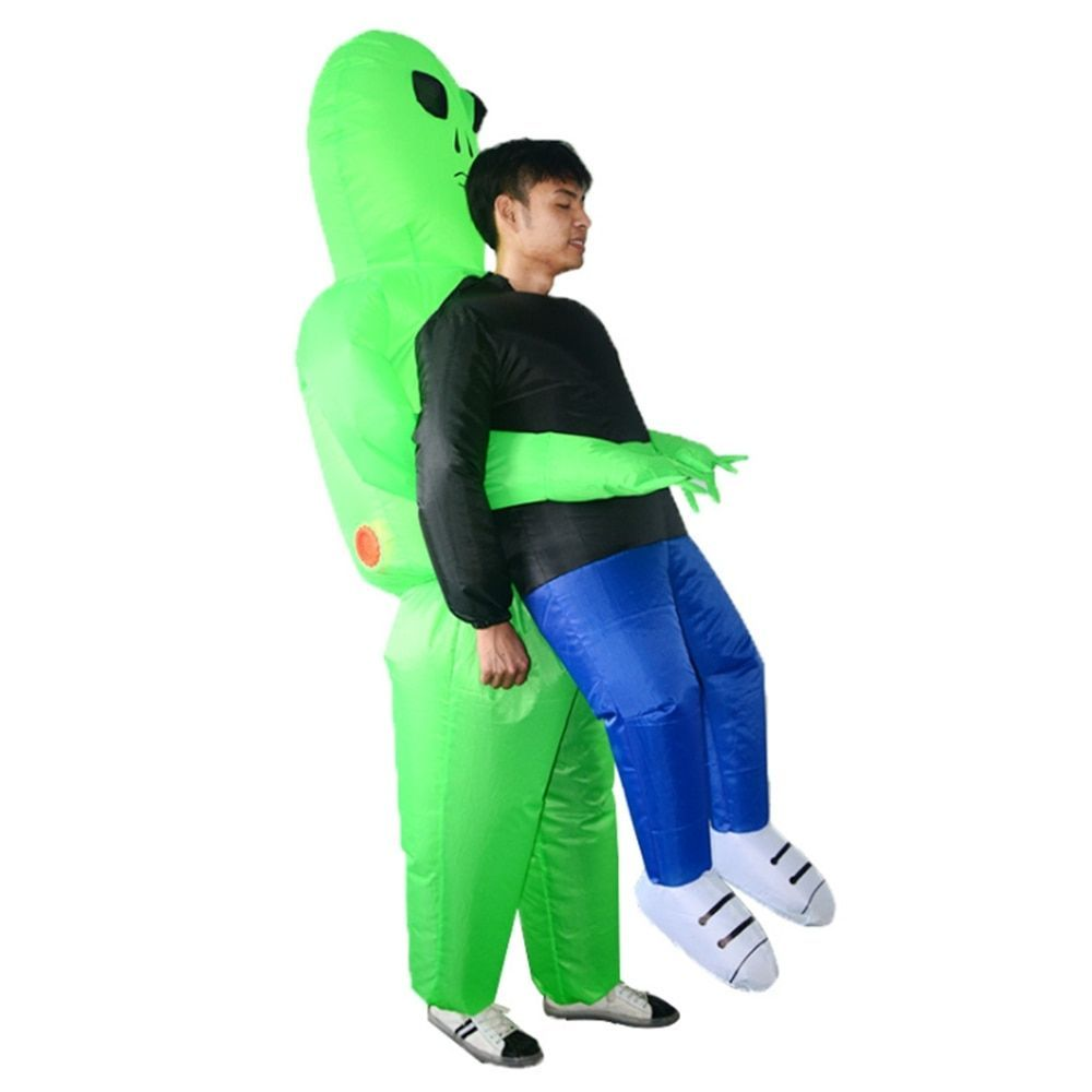 Outdoor Fun Inflatable Monster Costume Scary Green Alien Ride On Toys Cosplay Costume for Adult #area51partyoutfit Outdoor Fun Inflatable Monster Costume Scary Green Alien Ride On Toys Cosplay Costume for Adult  Price: 59.99 & FREE Shipping  #toys #area51partyoutfit