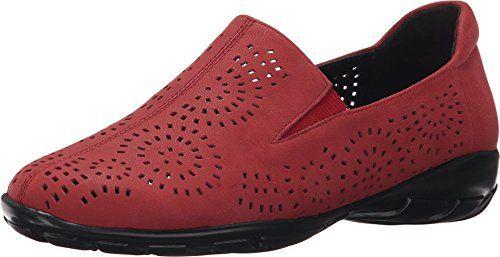 Vaneli Women's Alisha Red Nubia Sneaker 7.5 W ...