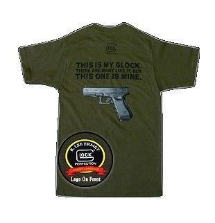 Logos Para Camisetas · Engranajes · Accesorios De Glock · Cosas De Hombre ·  Armas De Fuego · Armas · THIS IS MY GLOCK. .OD GREEN T-Shirt Medium e0e8334b5847