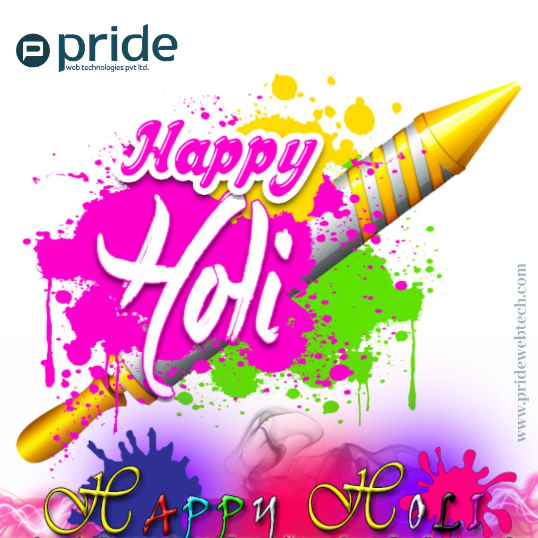 Holi festival #pridewebtechnologies  #holi  #festivalofcolors #holicelebrations #HappyHoli #Haveagreatholi #colorfulfestival #holifestival2020 #Bringcolortoyourlife #colours