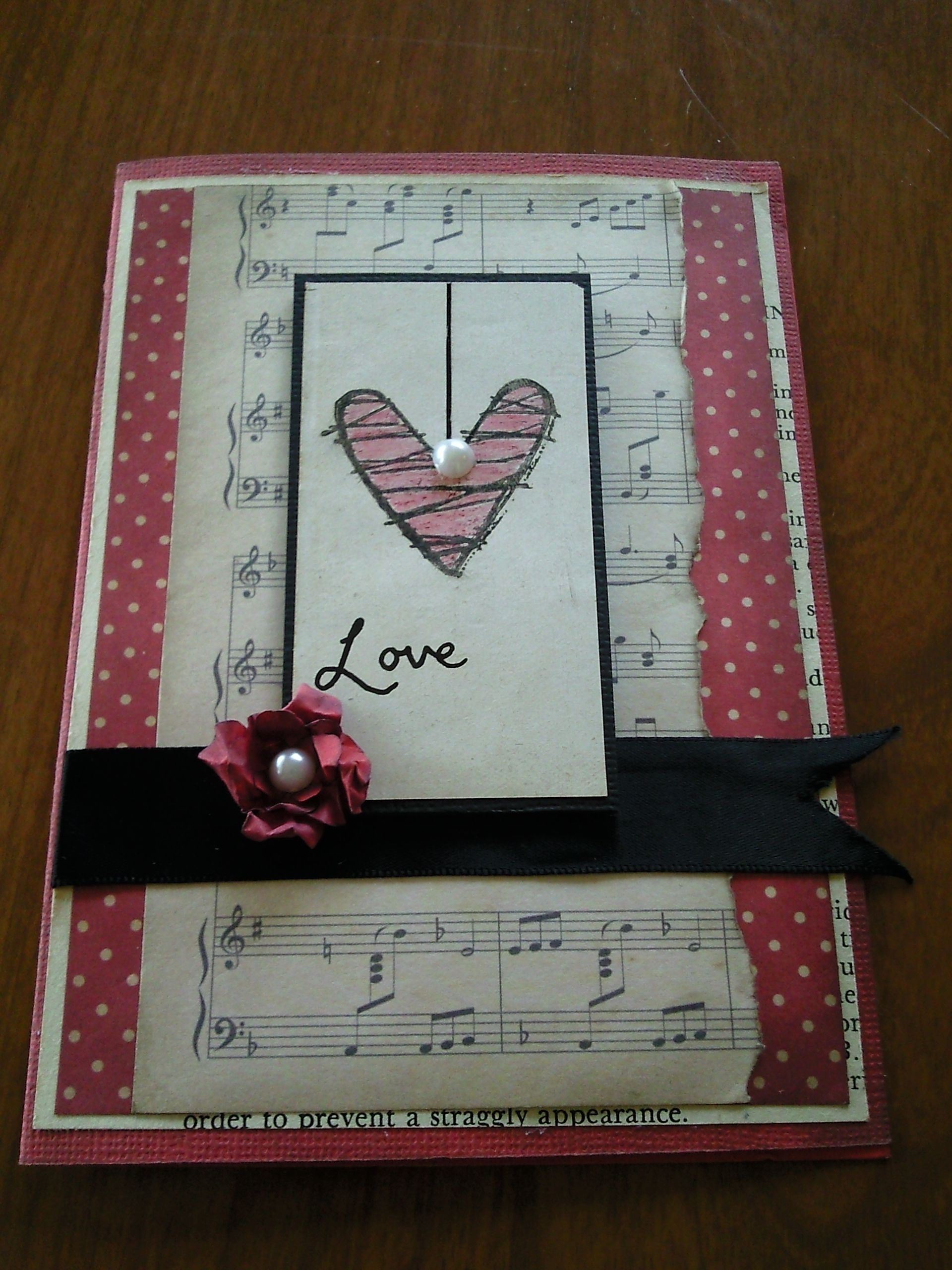 Love Music Heart Engagement Cards Love Cards Cards